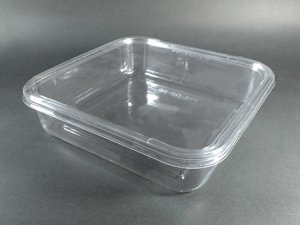 Square shape food containers